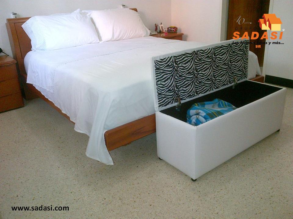hogar LAS MEJORES CASAS DE MÉXICO. Al pie de la cama podemos colocar ...