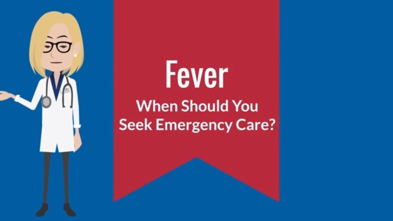 When does a child's fever warrant emergency care? What is ...