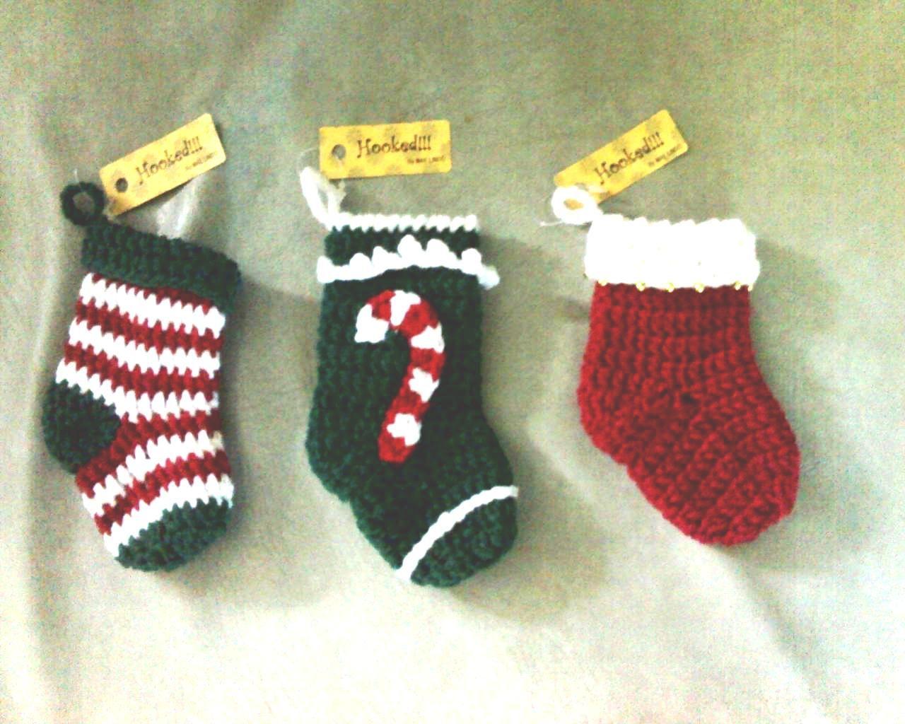 Mini Christmas Stockings Basic Pattern | Cosas de bebés, Decoración ...