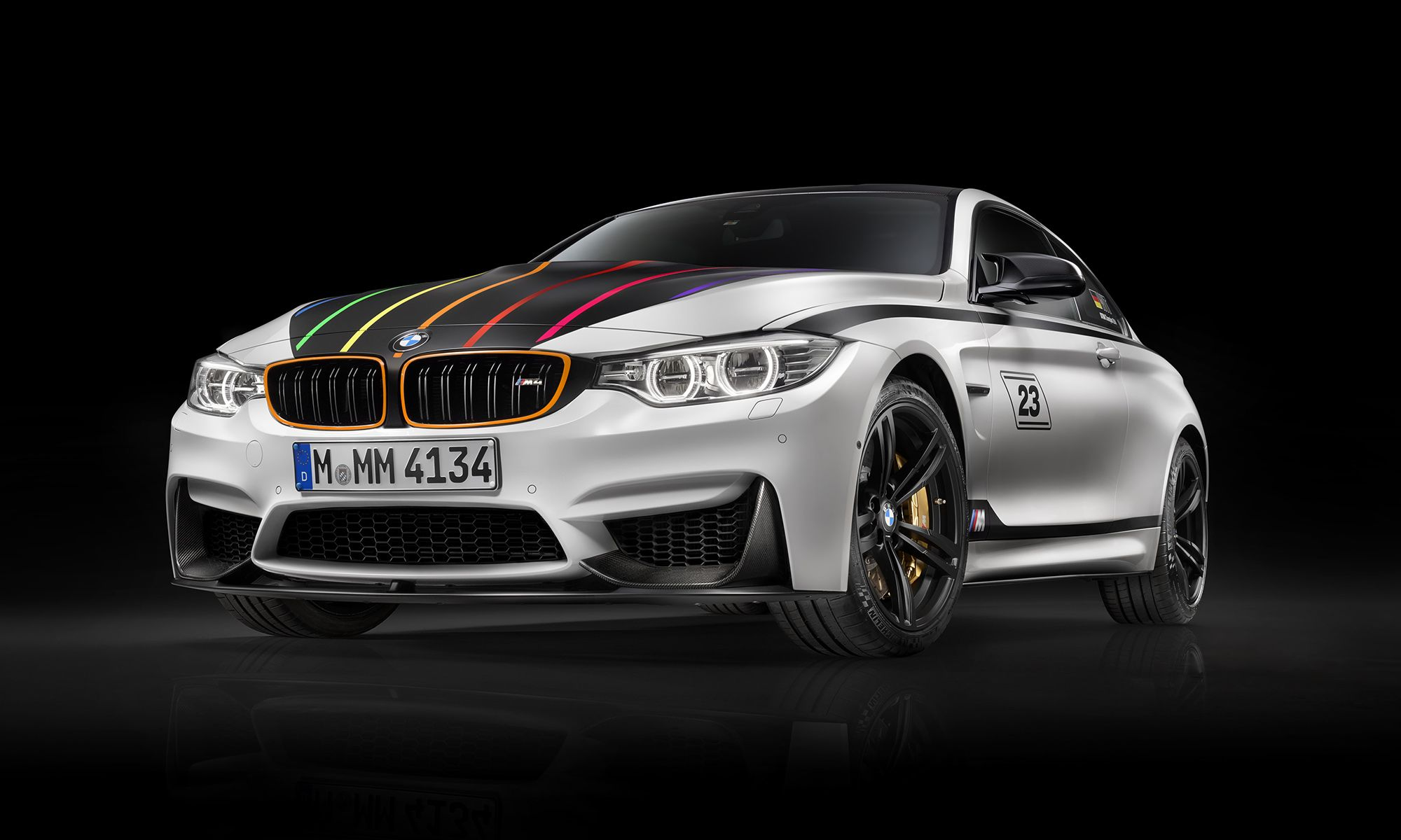 Bmw m4 dtm champion edition sports eye catching highlights http www
