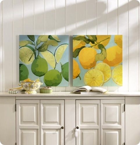 Fresh Limes Lemons From Ballard Designs The Lemon Print Was In Lily And Marshalls