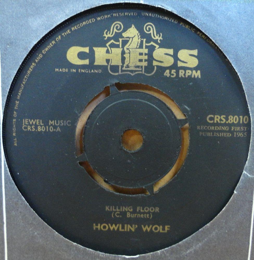 Detalles De Howlin Wolf Matando Piso Original 1965 Reino Unido 45 De Ajedrez Ver Titulo Original Howlin Wolf Wolf Y Los Originales