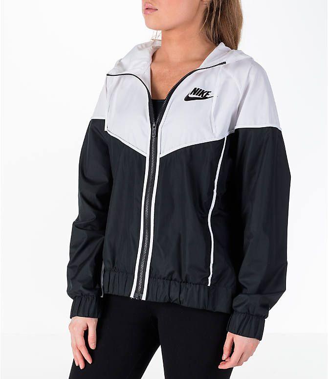 2b8deb2f9f39 Front view of Women s Nike Sportswear Woven Windrunner Jacket in
