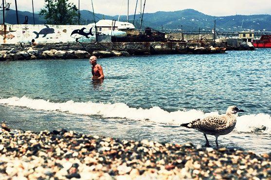 Una spiaggetta indietro nel tempo... http://www.iliguria.net/porto-vado-la-spiaggia-post-atomica/ Tutta un'altra #Liguria!