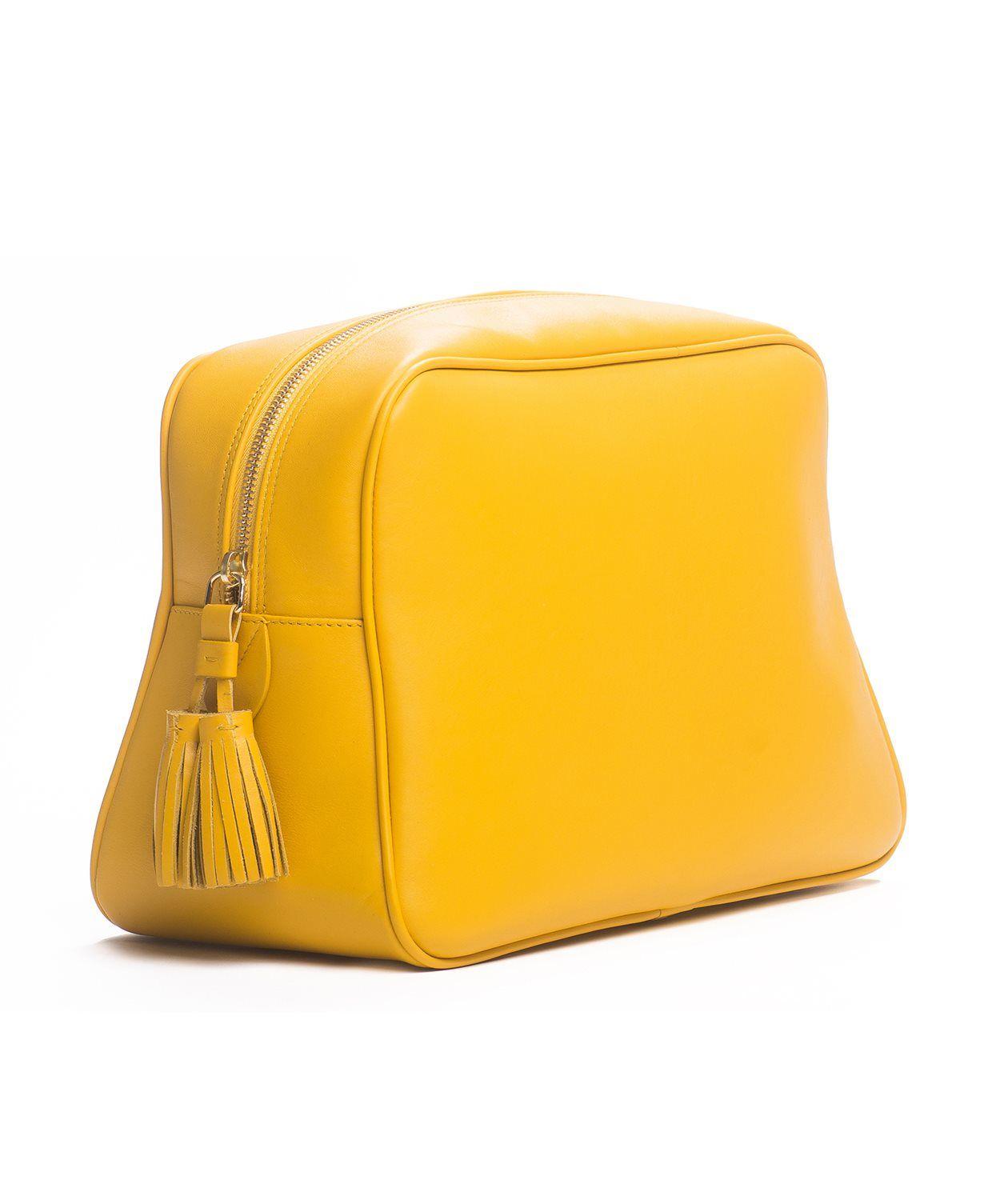 Palmgrens - Necessär Gul - Genuine handcrafted leather since 1896 ... d99c5967ec929
