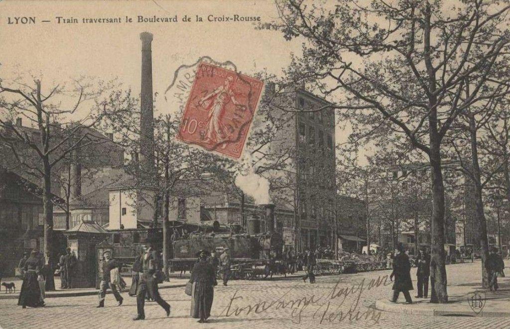 10 Images Du Lyon Disparu 2 Croix Rousse Lyon Carte Postale