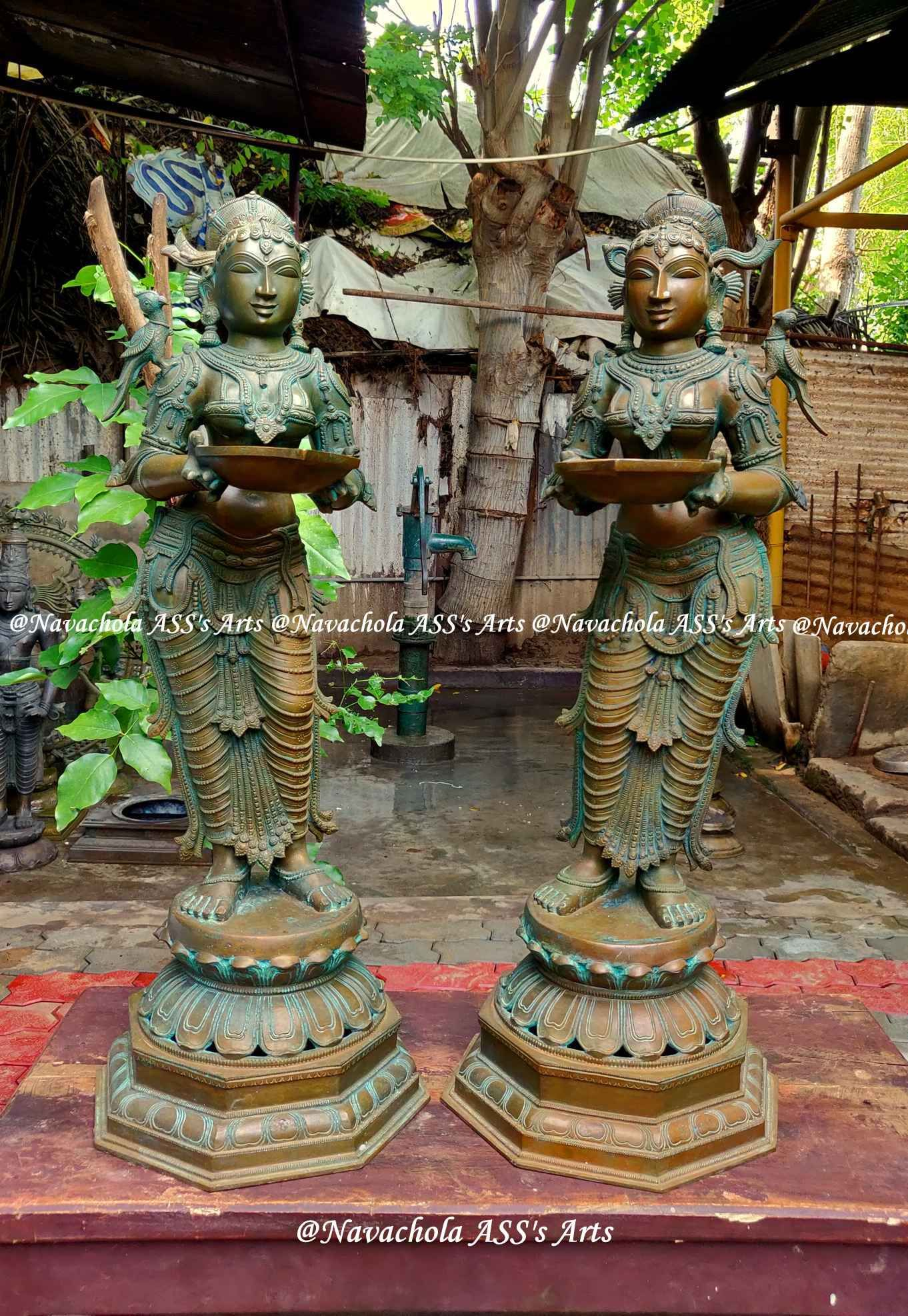 Newly made Bronze Statue, Formally called Pawai lamp Pavai