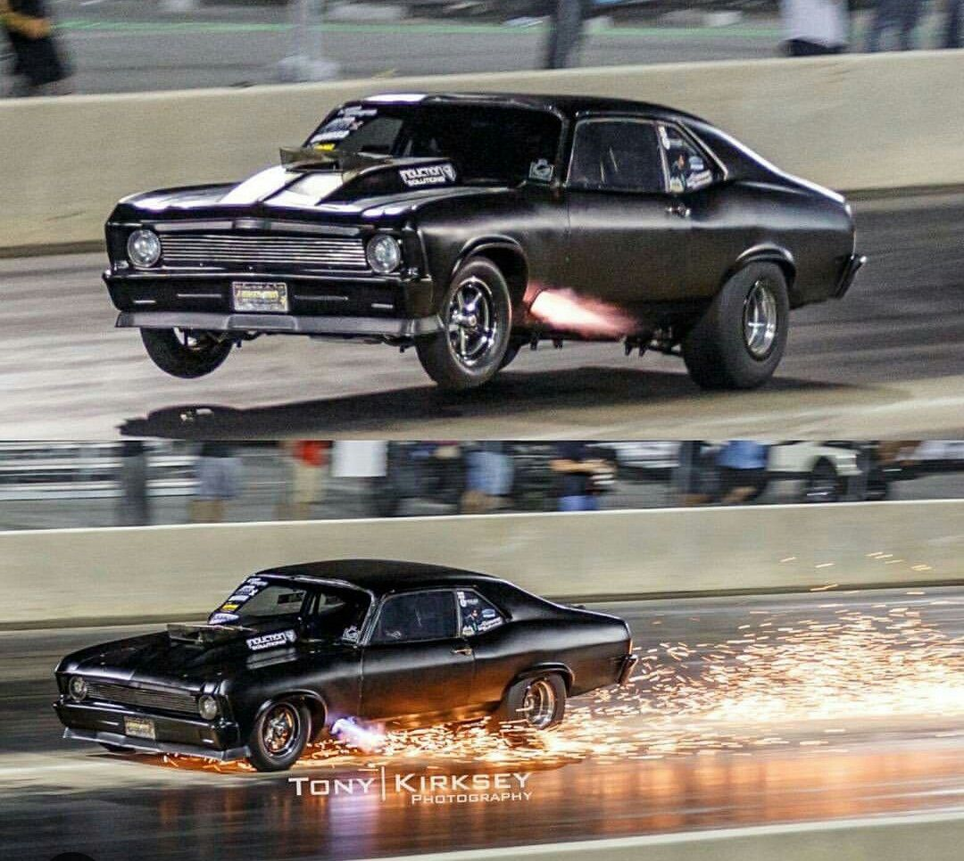 Pin By Joseph Tidwell On Drag Racing Chevy Nova Drag Racing Cars Chevrolet Nova