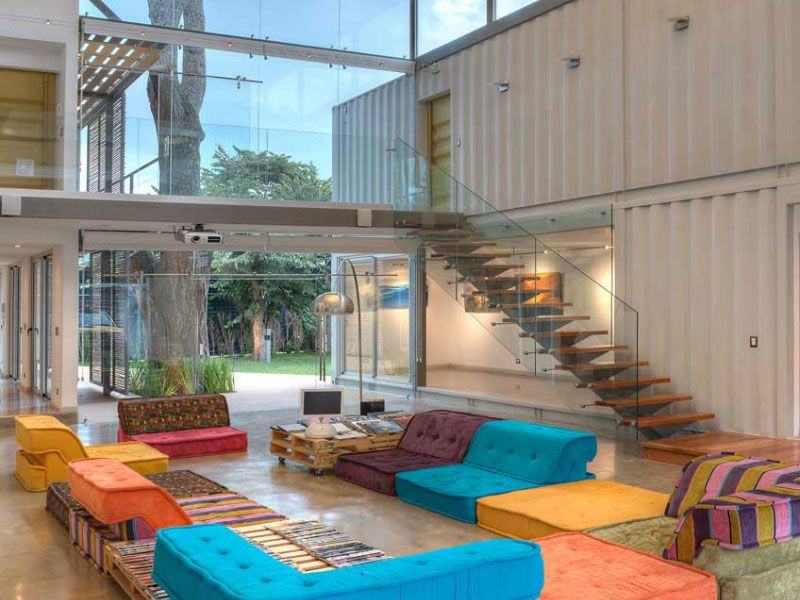 15 Well Designed Shipping Container Homes For Life Inside The Box   Http://