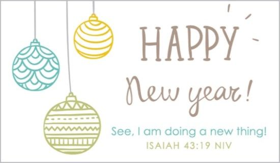 Isaiah 4319 ecards pinterest isaiah 43 19 isaiah 43 and free isaiah ecard email free personalized new year cards online m4hsunfo