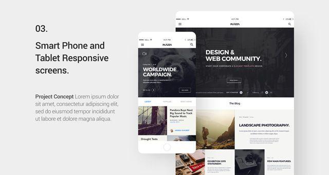 ui design project showcase, #display, #free, #mockup, Presentation templates