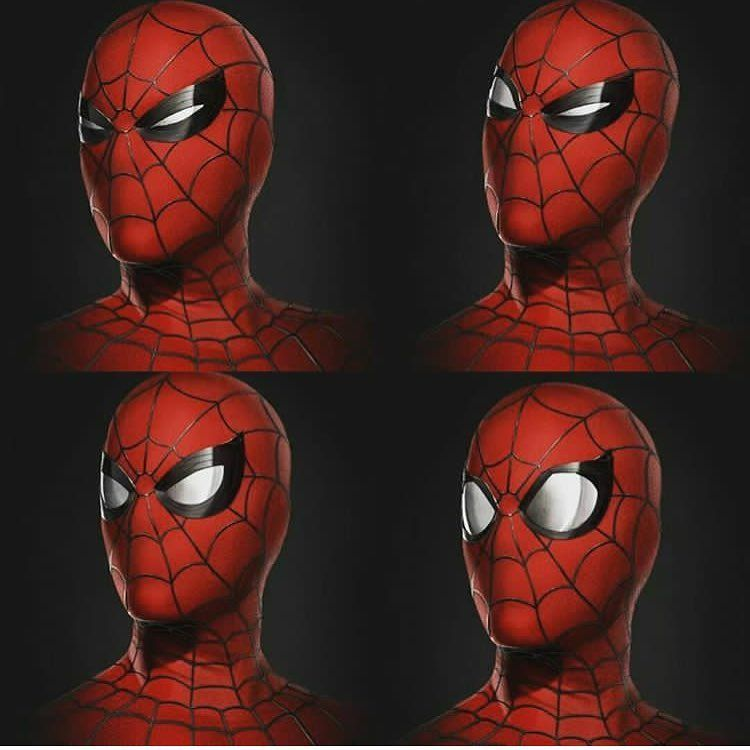 "(@spidey.marvel) på Instagram: ""The different expressions New concept art - - - [ #spiderman #marvel #spidermanhomecoming…"""