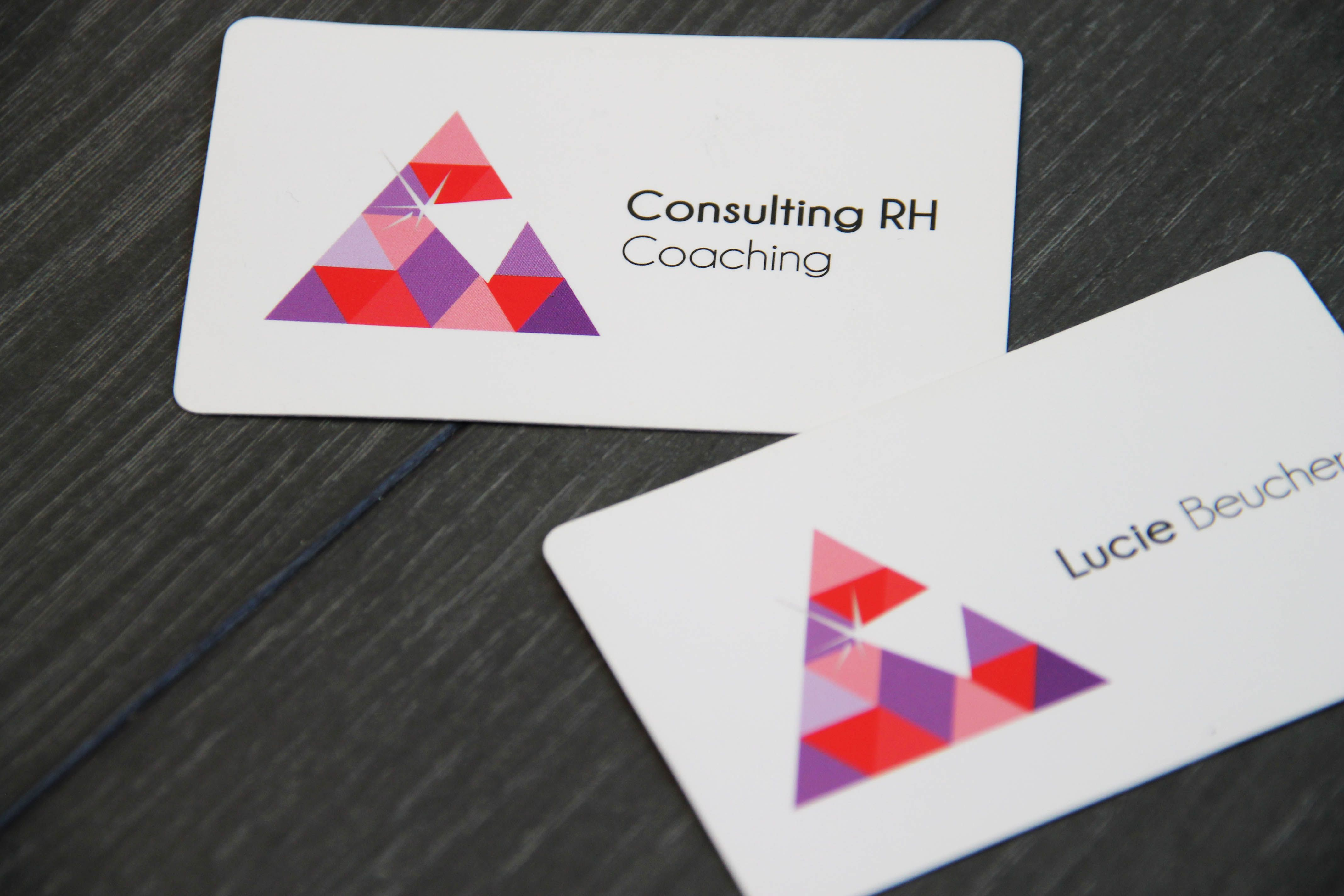 Carte De Visite Cree Pour Lucie Beucher Psychologue Therapeute Et Coach