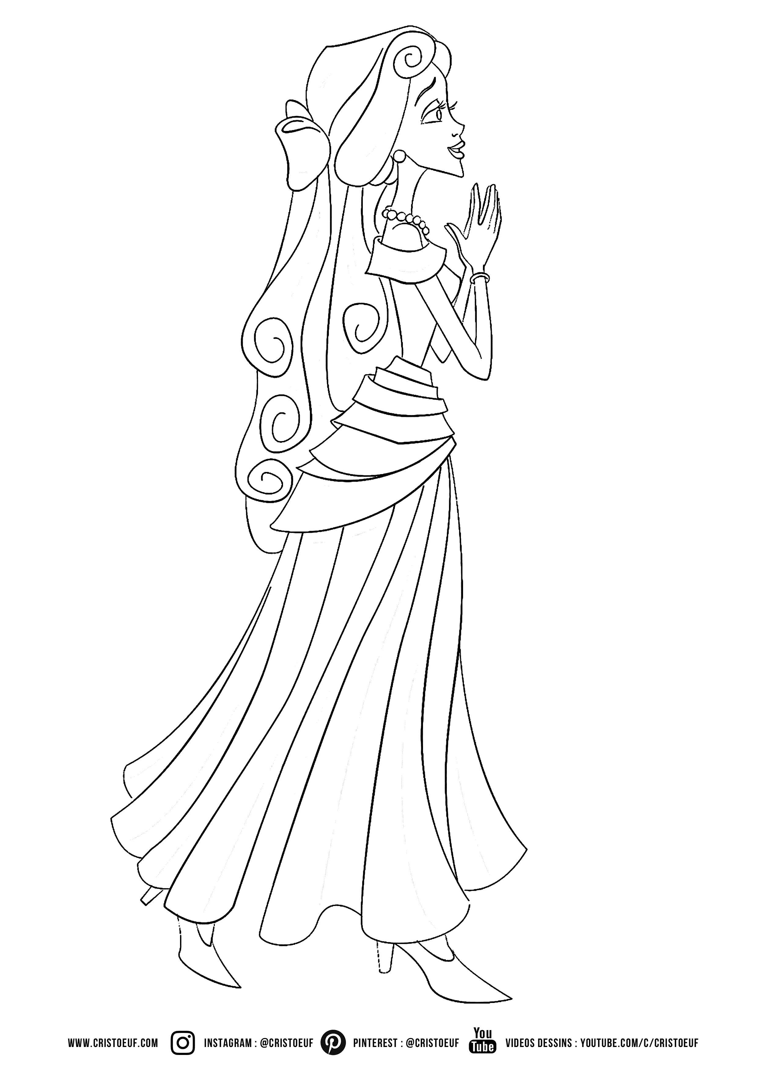 Colouring for Kids - Princess  Coloriage chevalier, Coloriage