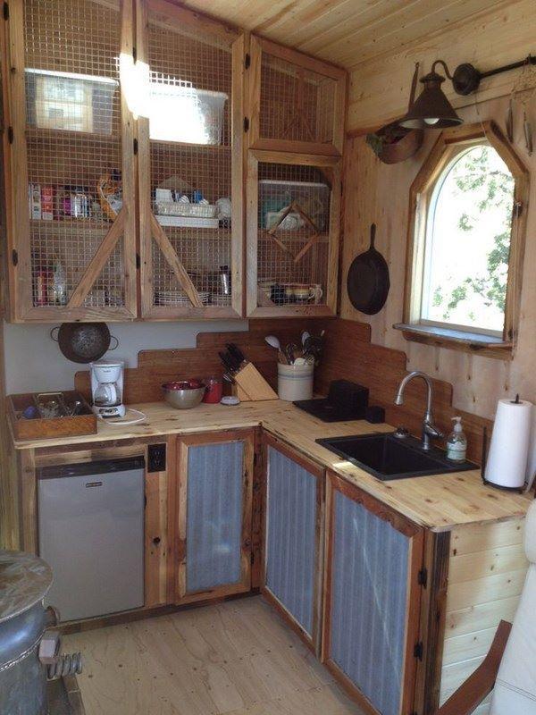 cocina elaborada a mano con estilo rustico | COCINAS | Pinterest ...