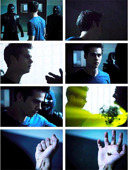 Stiles possessed by dark spirits