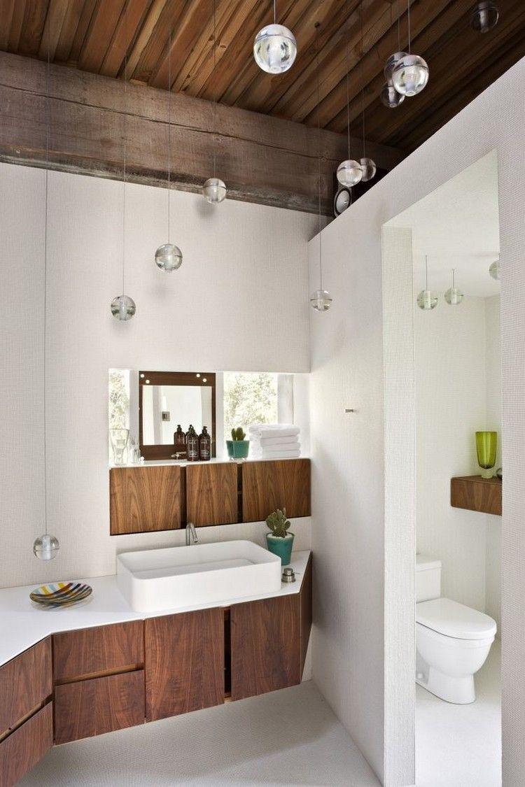 Lamparas de techo para cuartos de baño - 50 ideas | baños y cocinas ...