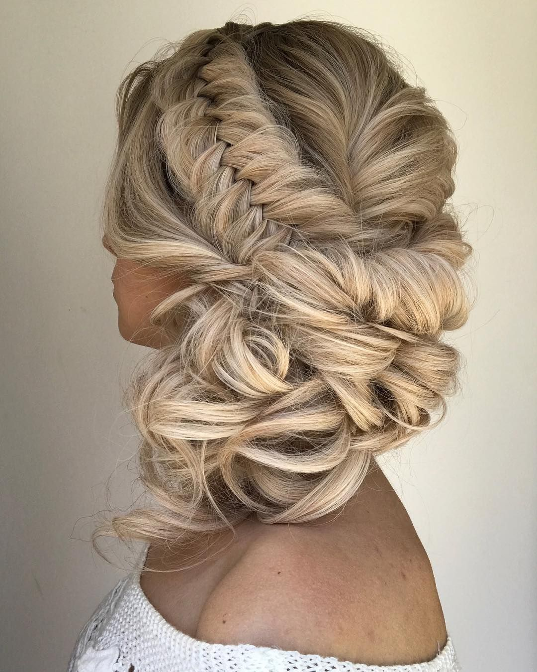 light brown ombre wig, braid hair art @alexandralee1016 from