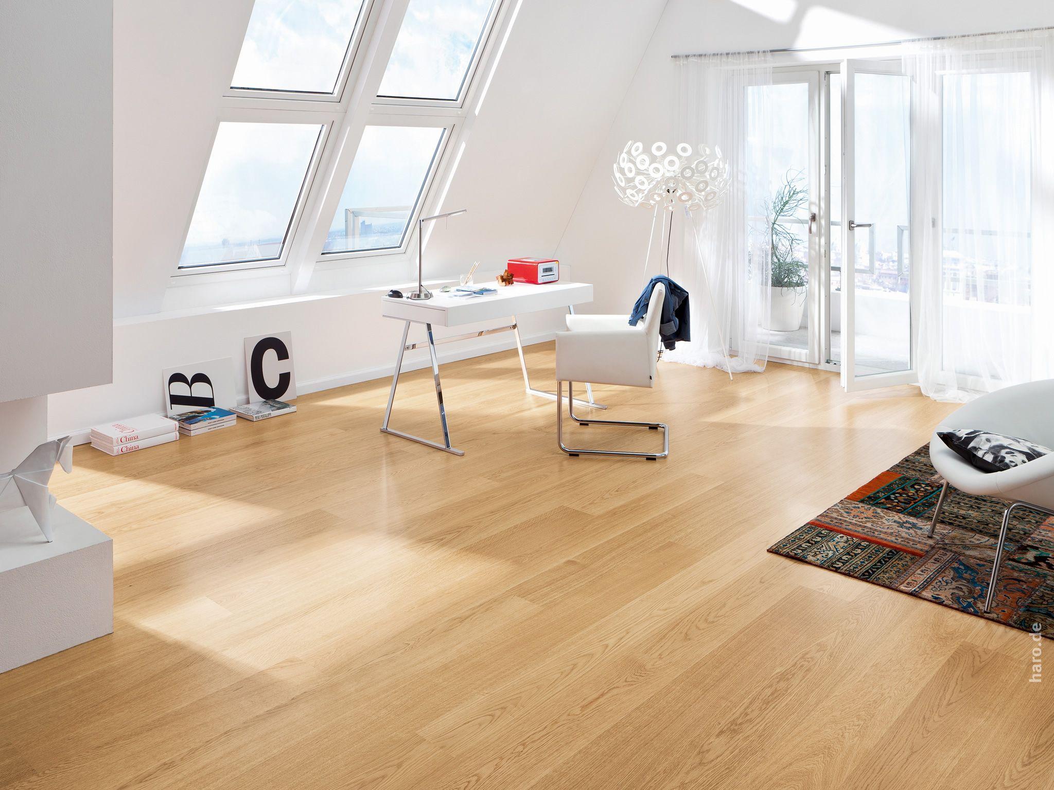 haro parkett 4000 landhausdiele eiche exklusiv permadur versiegelung top connect study. Black Bedroom Furniture Sets. Home Design Ideas