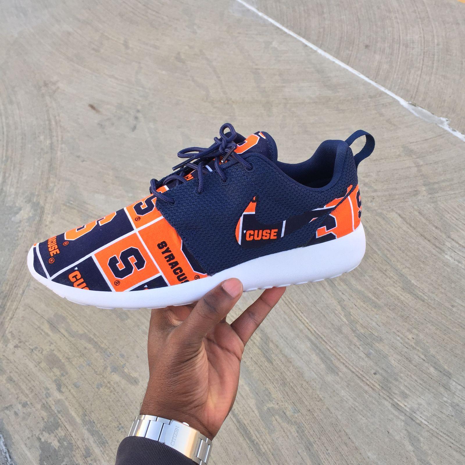 Custom Nike Roshe One Syracuse V3 Customs