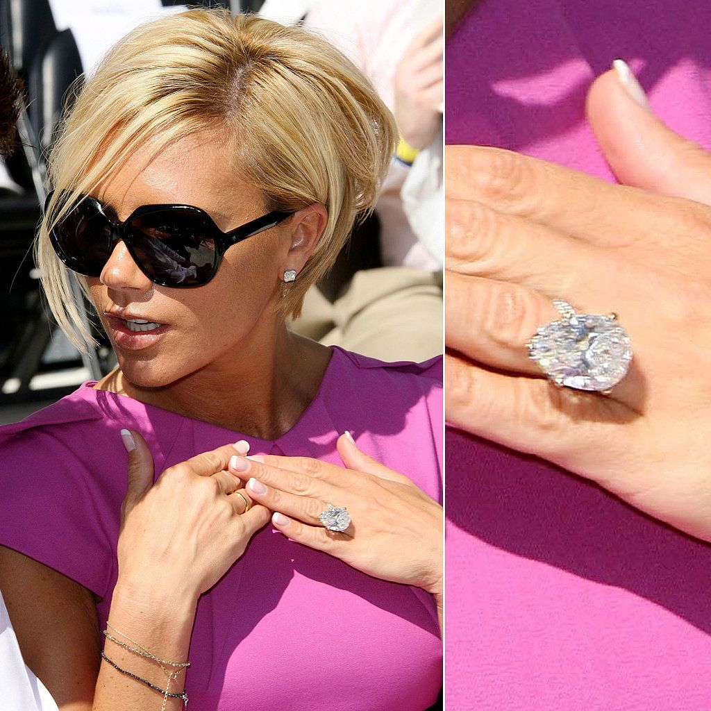 Ogle the Most Massive Celebrity Engagement Rings Engagement