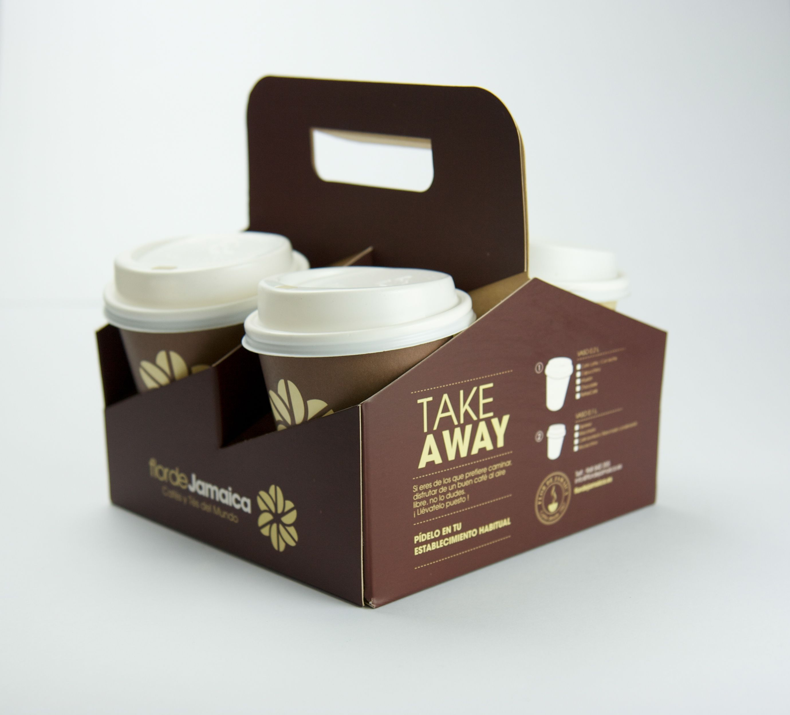 Take away flor de jamaica coffee flor de jamaica coffee tea y - Envases take away ...