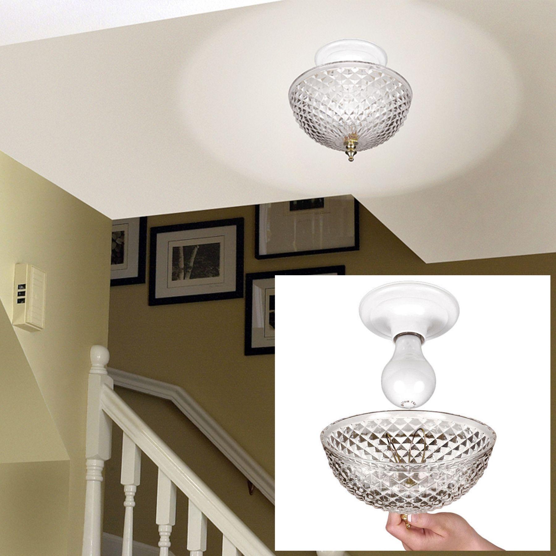 Ceiling Light Bulb Covers Clip