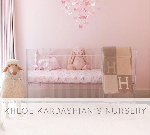 Khloe Kardashian Posted About Her Feminine Nursery For Daughter True Thompson Today We Have All The Sources And Details Here Including Our Flamingo Crib