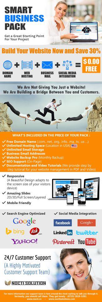 Smart Business Pack (Website Building)