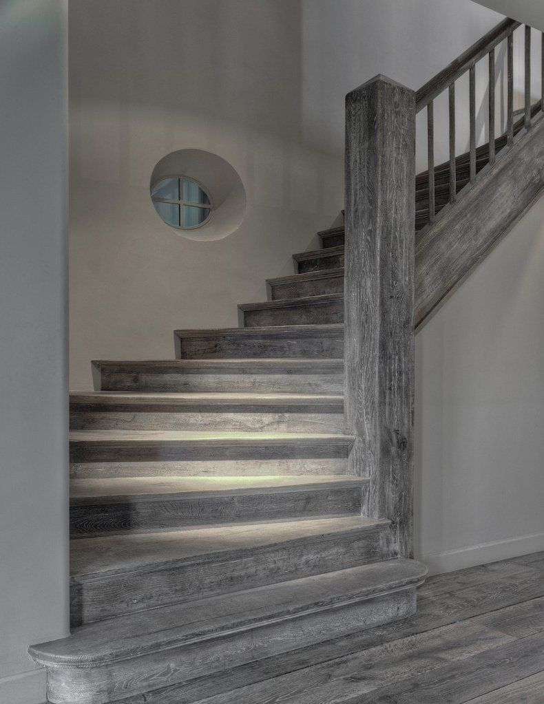 If The Result Of Staining Wood Deck On Inconspicuous Area Has Totally Satisfied You It S Time To Move On Grey Hardwood Floors Grey Hardwood Wooden Flooring