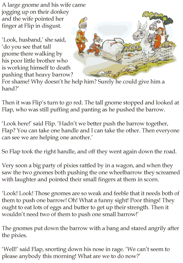 Grade 4 Reading Lesson 6 Short Stories - You Cant Please Everybody ...