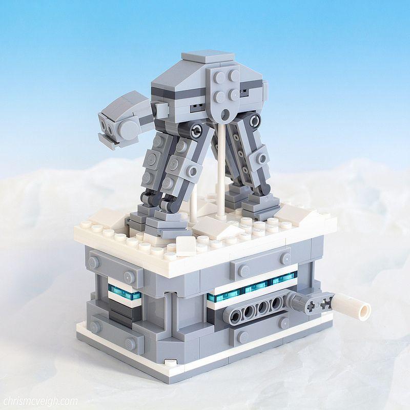 At At On Hoth Lego Lego Lego Star Wars Mini Lego Technic