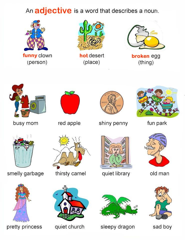 learning adjectives gr...