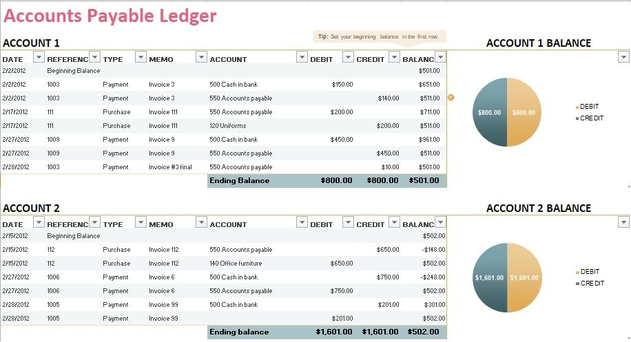 5+ General Ledger Templates http\/\/exceltmp\/5-general-ledger - ledger template free