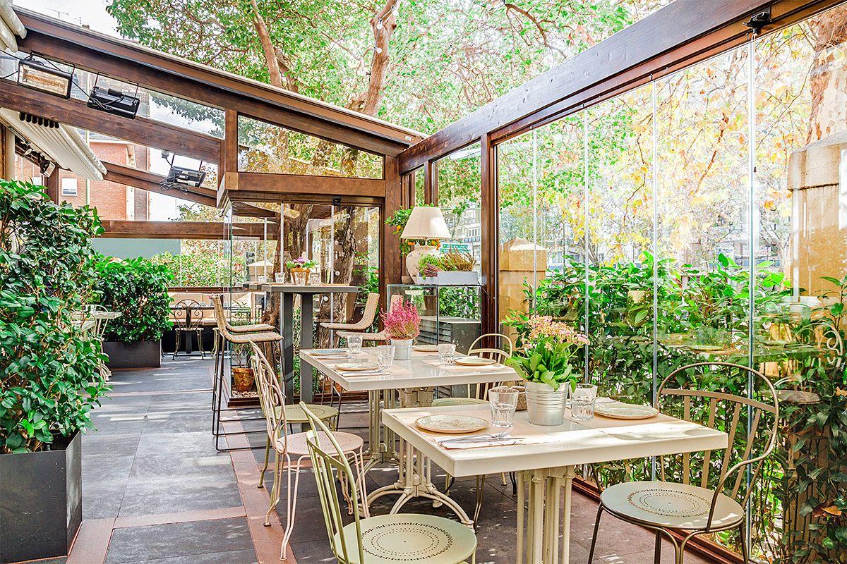 Jardines De Invierno Jardin De Interior Jardin De Invierno Restaurante Terraza