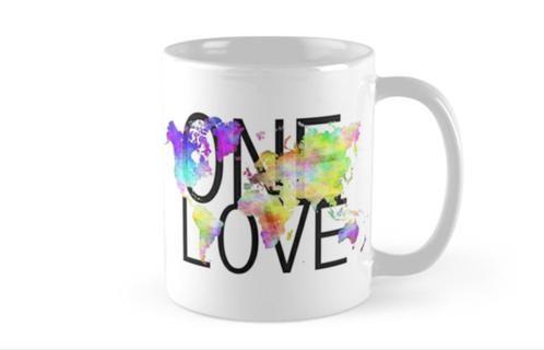 One Love Mug | nigel-cameron