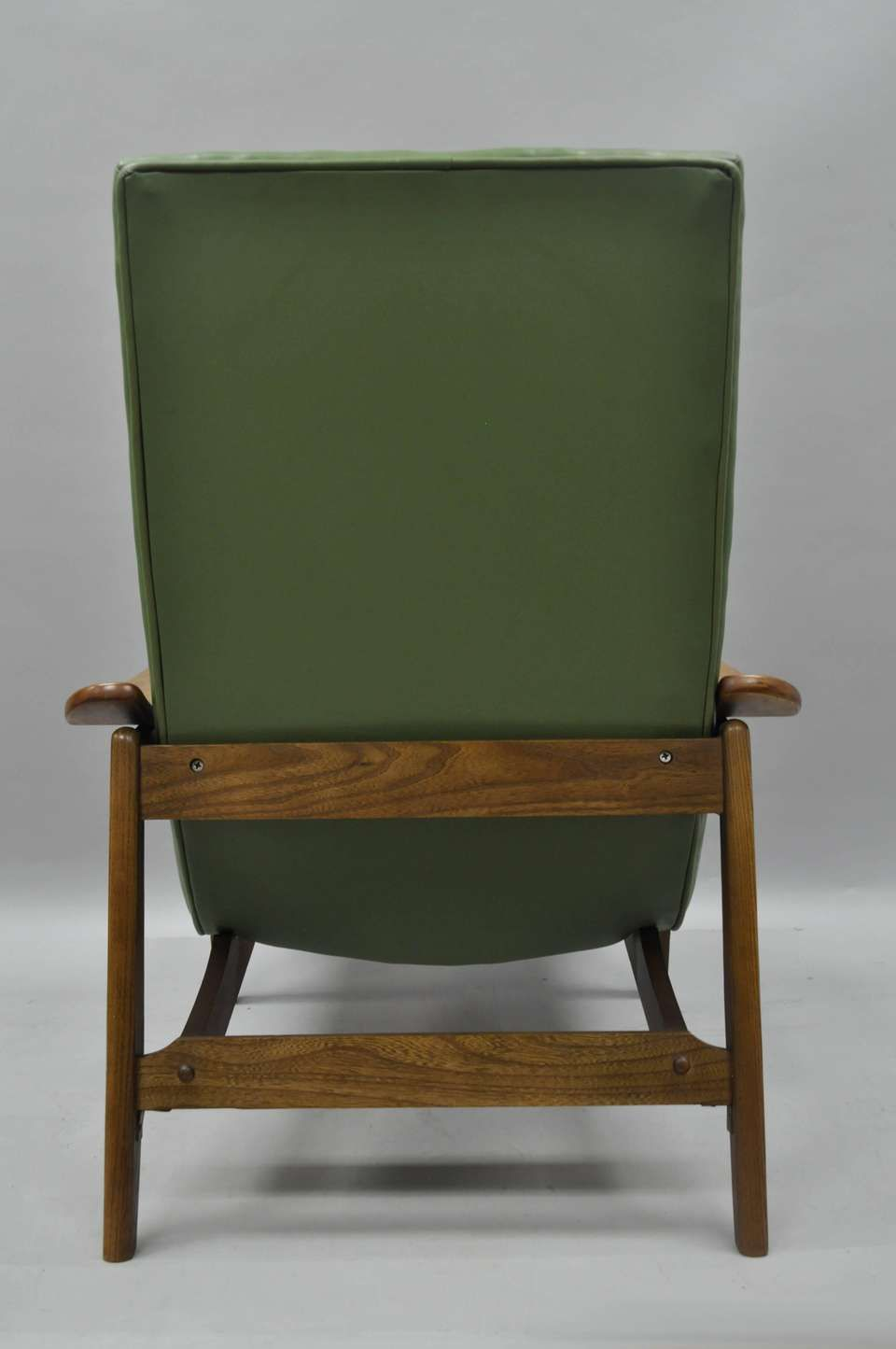 Superb Mid Century Modern Walnut Lounge Chair And Ottoman After Gmtry Best Dining Table And Chair Ideas Images Gmtryco