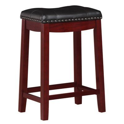Andover Mills Mikhail Bar Counter Stool Seat Height Counter