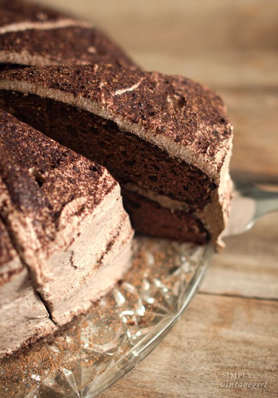 The best chocolate cake… and it's gluten-free.