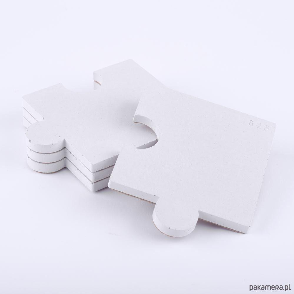 dekoracje - podkładki-Podkładki puzzle 4szt. - beton architektoniczny