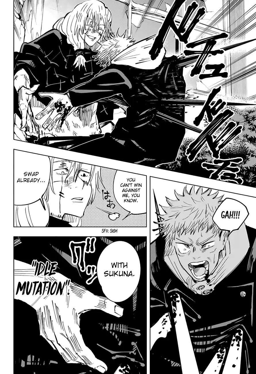 Jujutsu Kaisen Chapter 28 I Ll Kill You Jujutsu Chapter Fictional Characters