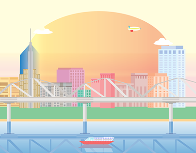 """Check out new work on my @Behance portfolio: """"city of dreams"""" http://be.net/gallery/37646949/city-of-dreams"""