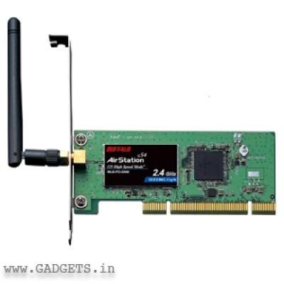 BUFFALO WLI2-PCI-G54S WIRELESS-G DRIVERS WINDOWS XP