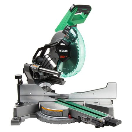 Hitachi C10fshc 10 Sliding Dual Compound Miter Saw With Laser Marker Learn More Compound Mitre Saw Miter Saw Mitered