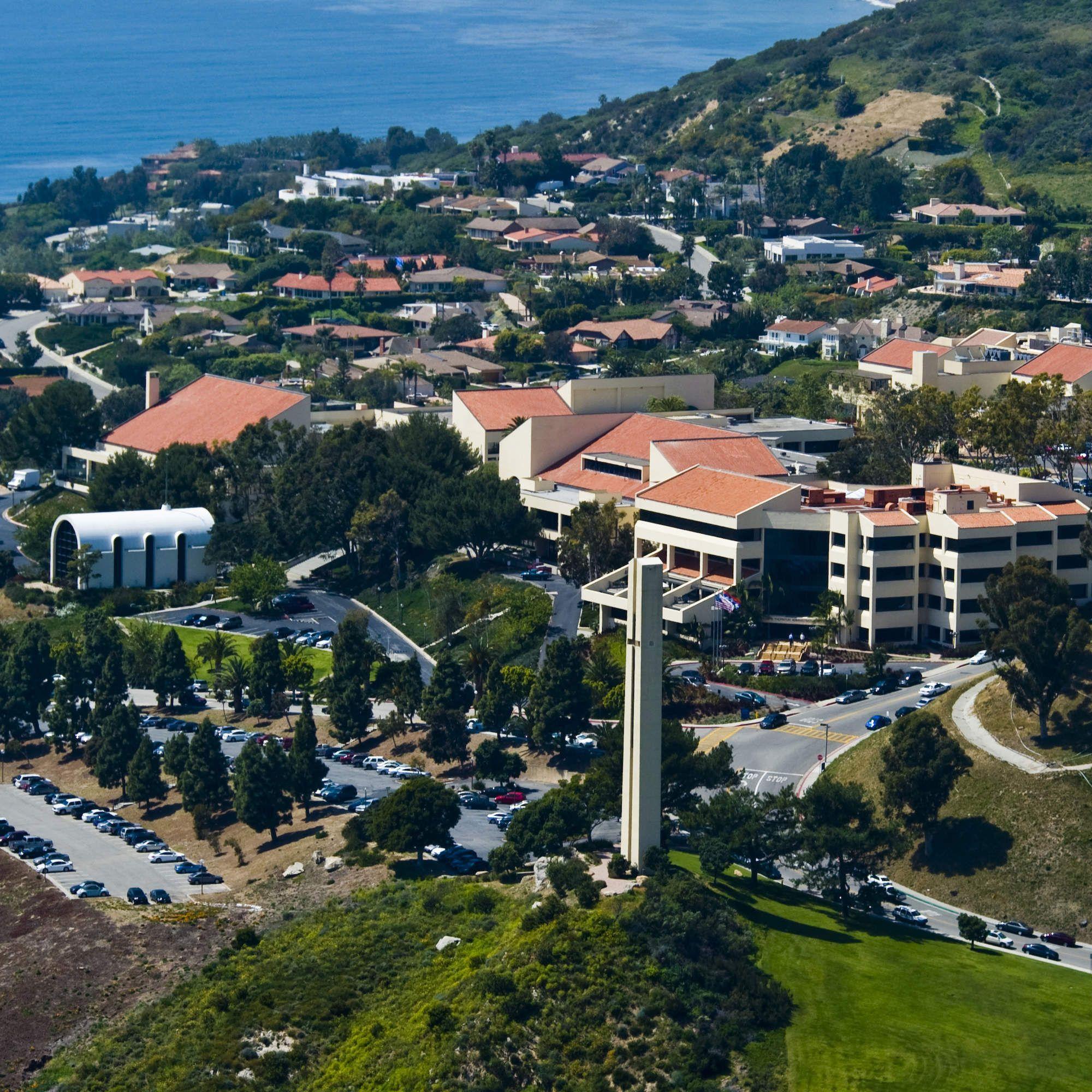 The 25 Most Beautiful College Campuses in America   Pepperdine -- Malibu, California