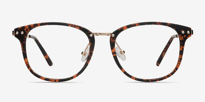 Cosmo Floral Metal Eyeglasses Eyebuydirect Eyeglasses