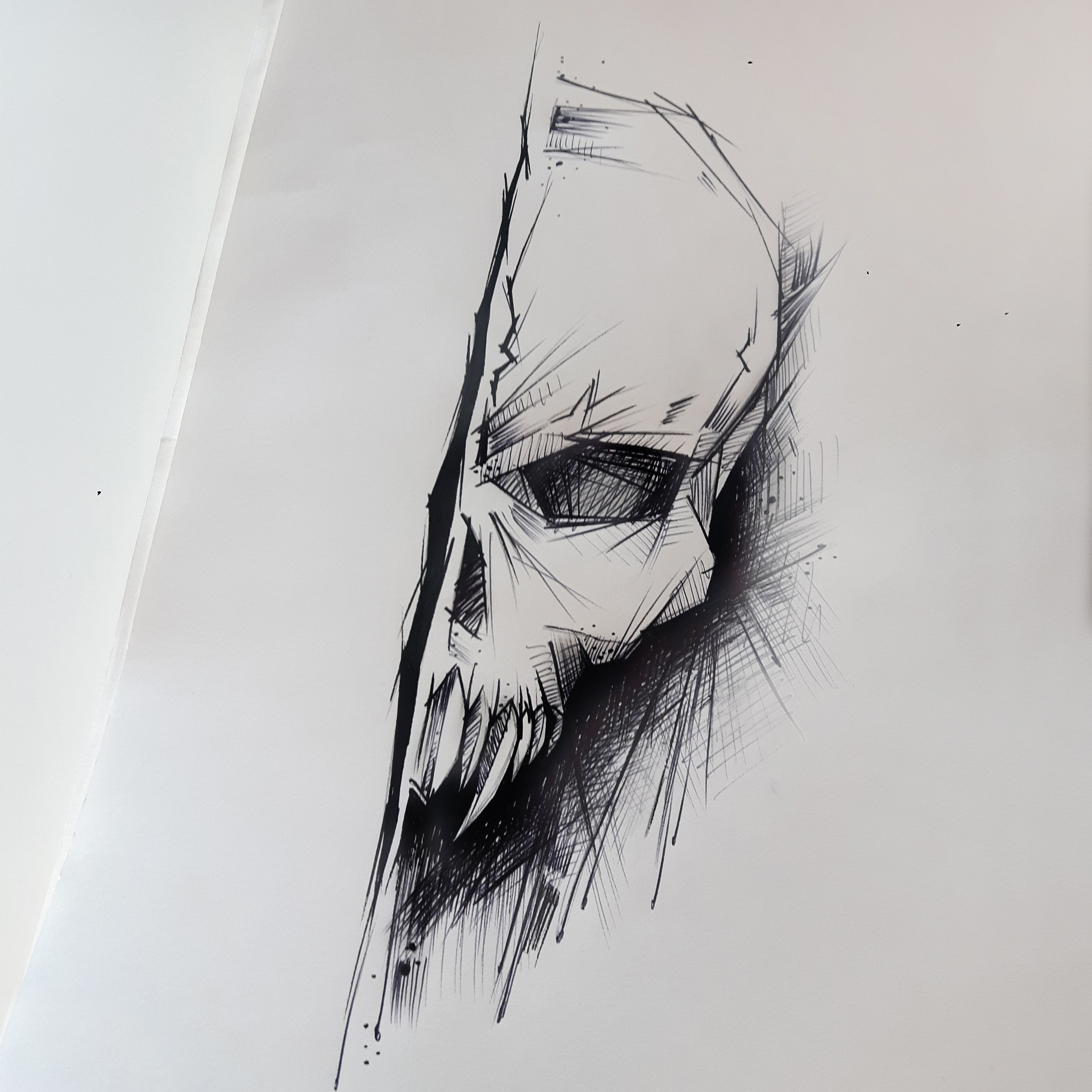 Skull Tattoo Design By Rysaatattoo Tattoodesign Tattoo Design Sketch Sketchstyle Project Tattooproj Skulls Drawing Skull Art Drawing Best Tattoo Designs