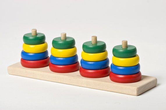 Old fashioned wooden toys for kids 59