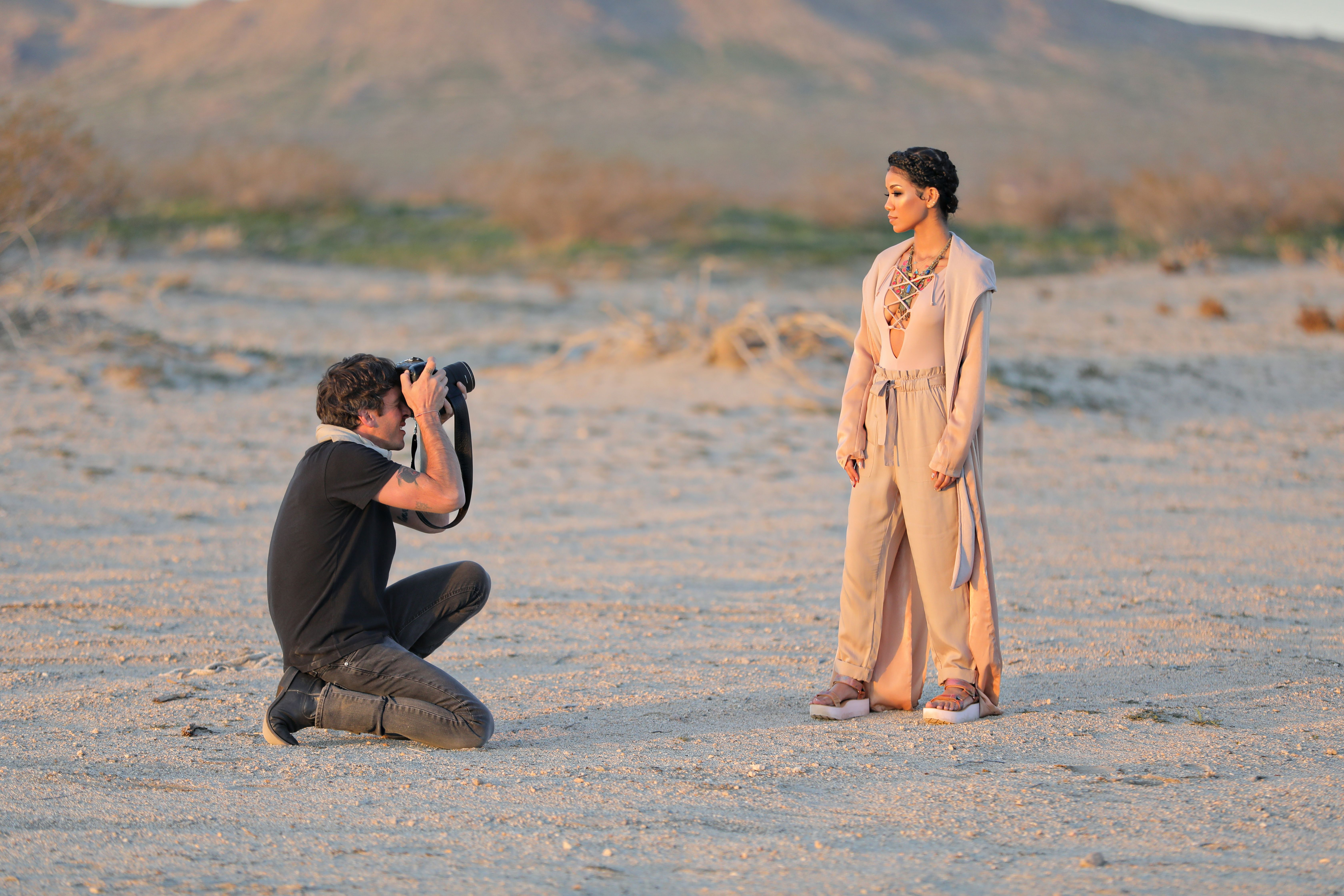 3e69c3bd6181 Here s a behind the scenes glimpse at our photoshoot with Jhené Aiko for  the new  TevaXJheneAiko collection. Jhené had dreamy