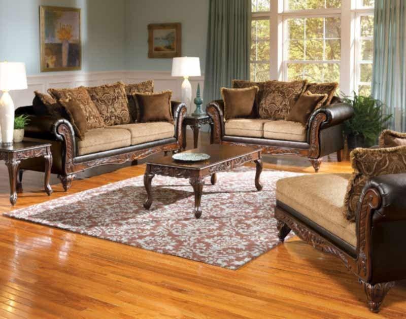 Best Acme Furniture Fairfax 3 Piece Living Room Set In 640 x 480